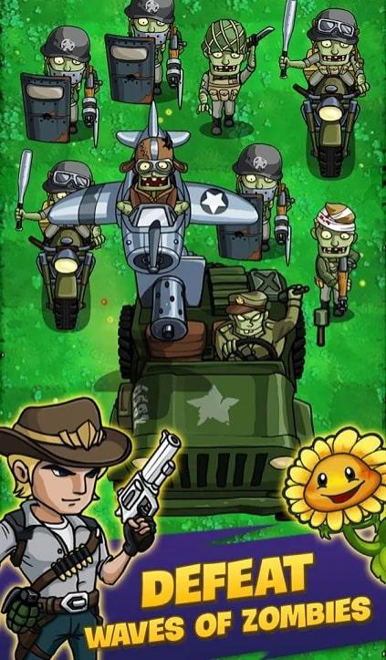 Zombie War андроид