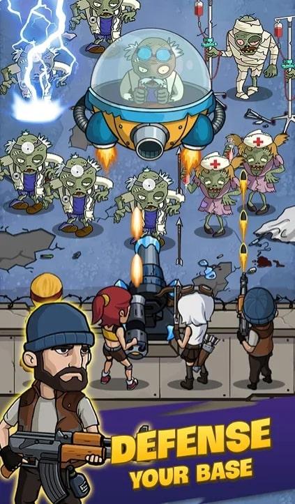 Zombie War читы