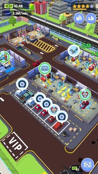 Car Fix Tycoon андроид