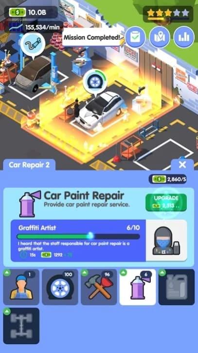 Car Fix Tycoon мод