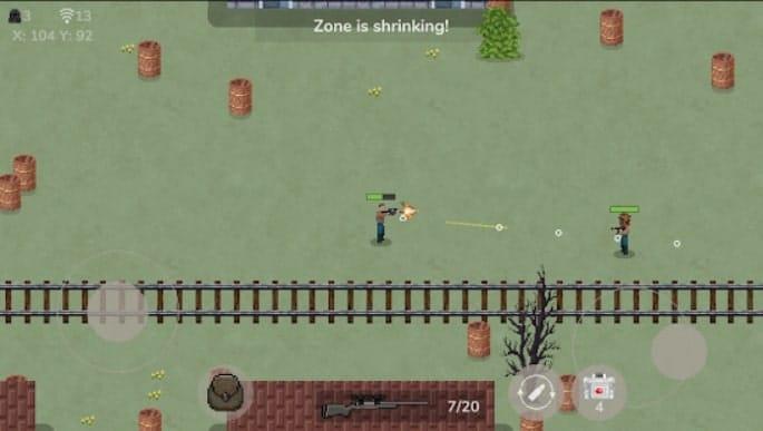 Desert Pixel Online андроид