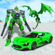 Dragon Robot Car Game взлом