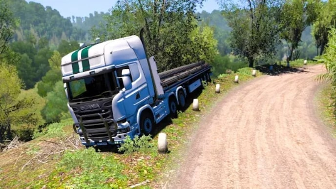 Euro Truck Parking Simulator 2021 андроид
