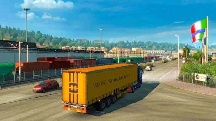 Euro Truck Parking Simulator 2021 читы