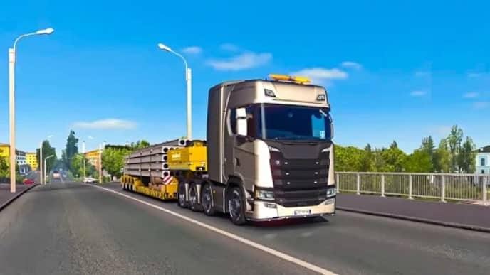 Euro Truck Parking Simulator 2021 скачать