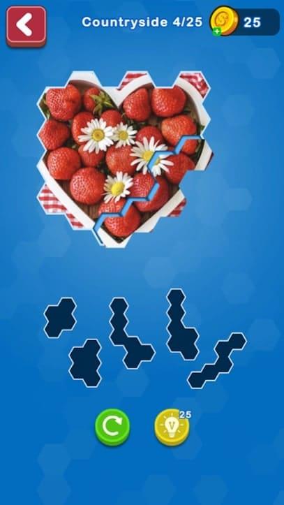 Hexa Puzzle Jigsaw андроид