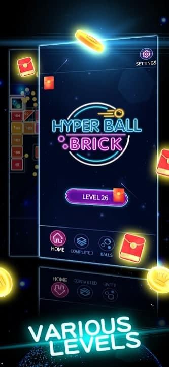 Hyper Ball Brick скачать