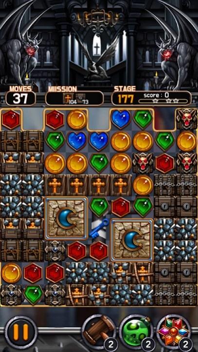 Jewel Vampire Castle андроид
