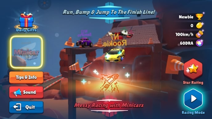 Messy Racing андроид