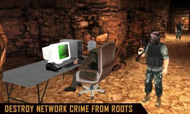 Modern Commando Assassin мод