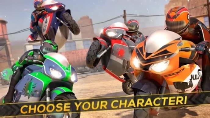 Moto Racing Rider мод