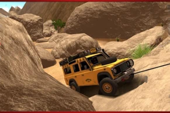 Offroad Jeep андроид