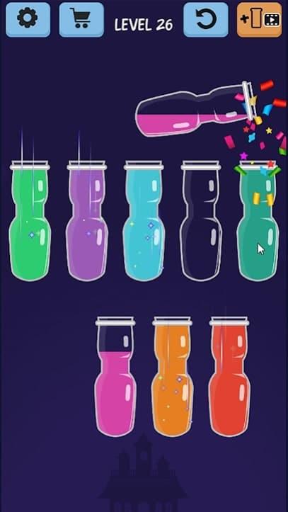 Water Color Sort андроид