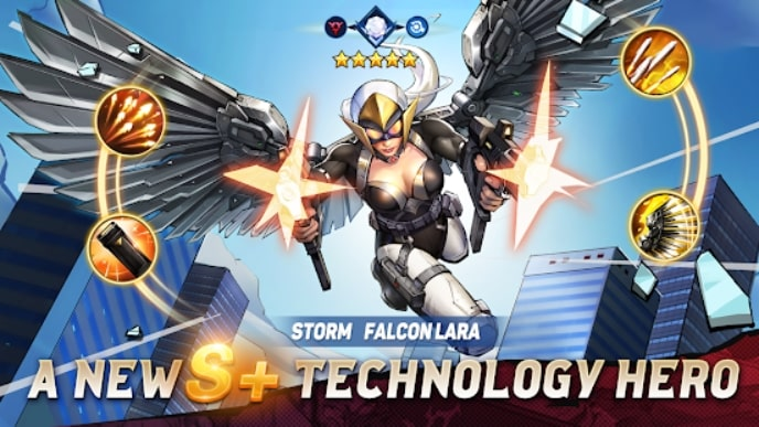 X-HERO: Idle Avengers скачать