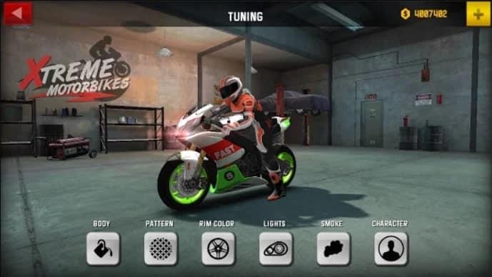 Xtreme Motorbikes андроид