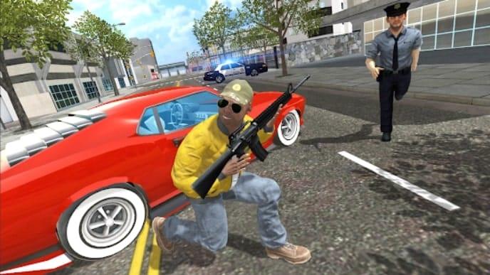 Auto Theft Simulator Grand City андроид