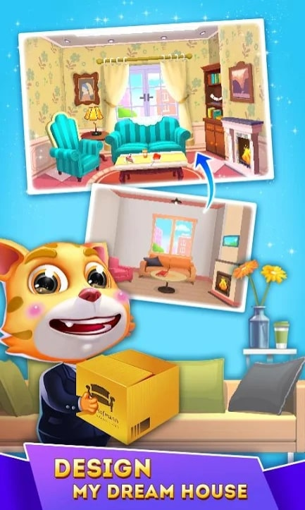 Cat Runner: Decorate Home мод