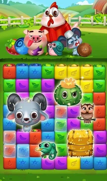 Fruit Funny Blocks андроид