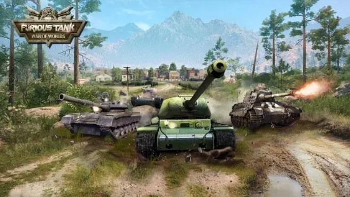 Furious Tank мод