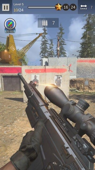 Gun Sniper Shooting андроид