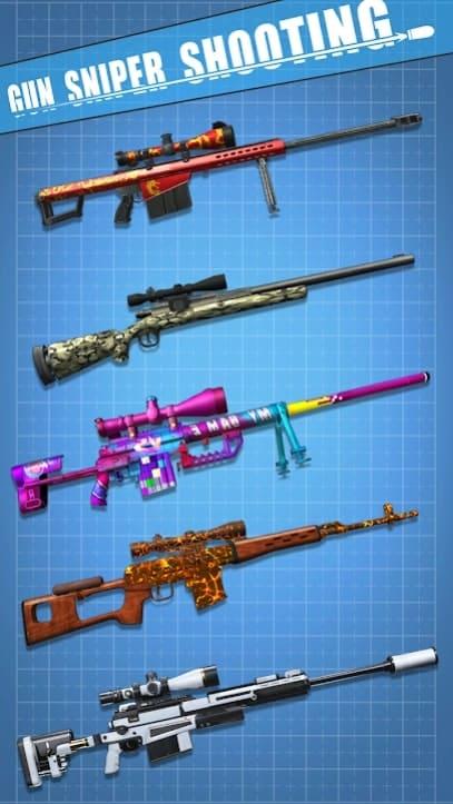 Gun Sniper Shooting скачать