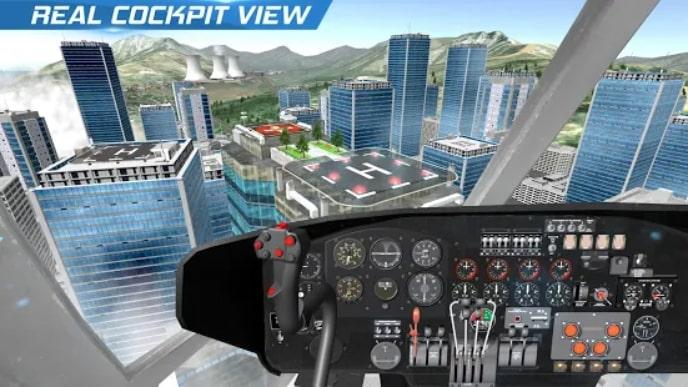 Helicopter Flight Pilot Simulator андроид