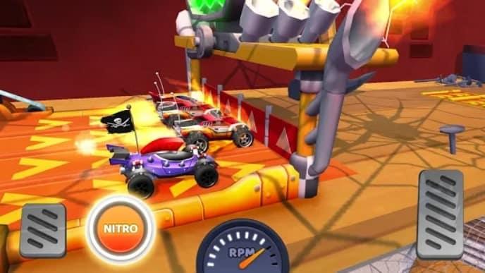 Nitro Jump Racing мод
