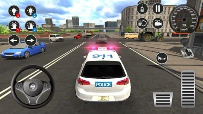 Police Car Game Simulation 2021 андроид