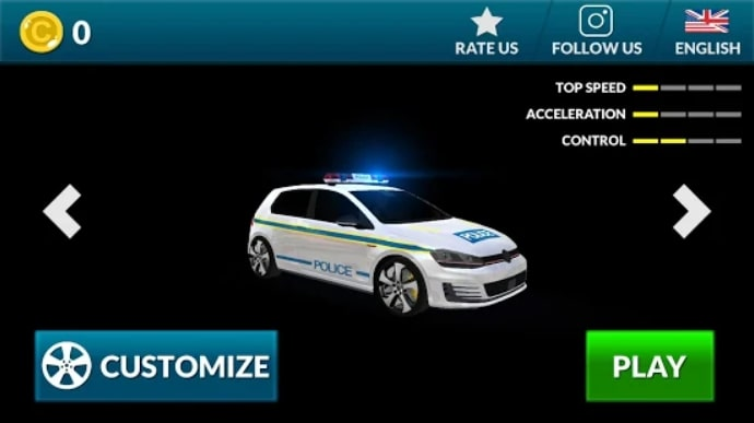 Police Car Game Simulation 2021 мод