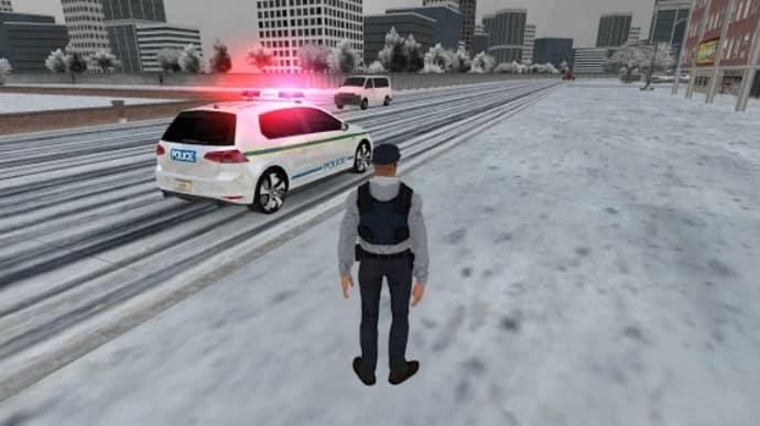 Police Car Game Simulation 2021 скачать
