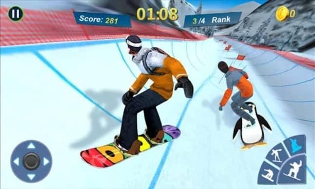Snowboard Master 3D андроид