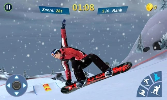 Snowboard Master 3D мод