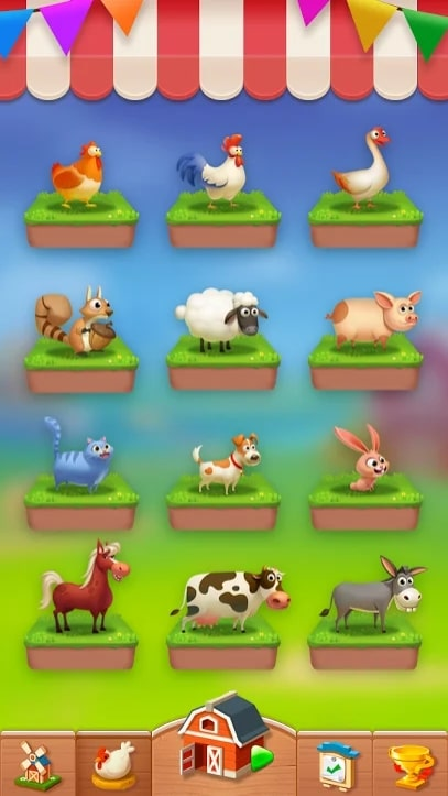 Solitaire - My Farm Friends андроид