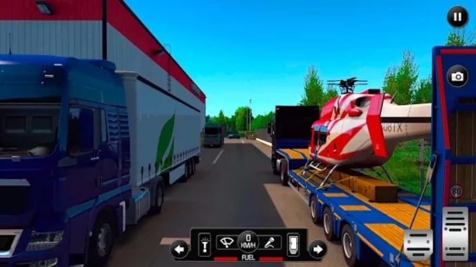 US Truck Simulator 2021 мод