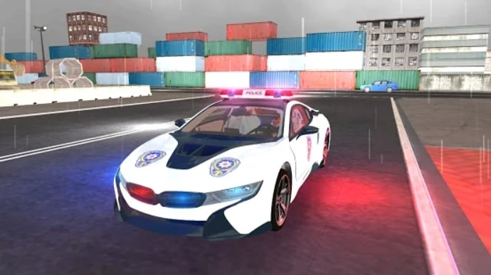 American i8 Police Car Game 3D читы