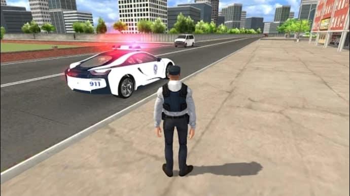 American i8 Police Car Game 3D скачать