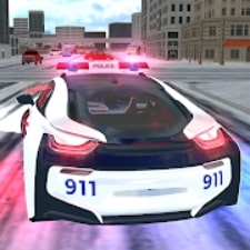American i8 Police Car Game 3D взлом
