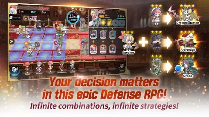 Arcana Tactics андроид