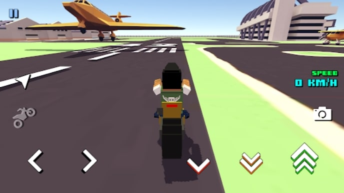 Blocky Moto Racing читы