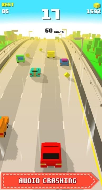 Blocky Racing андроид