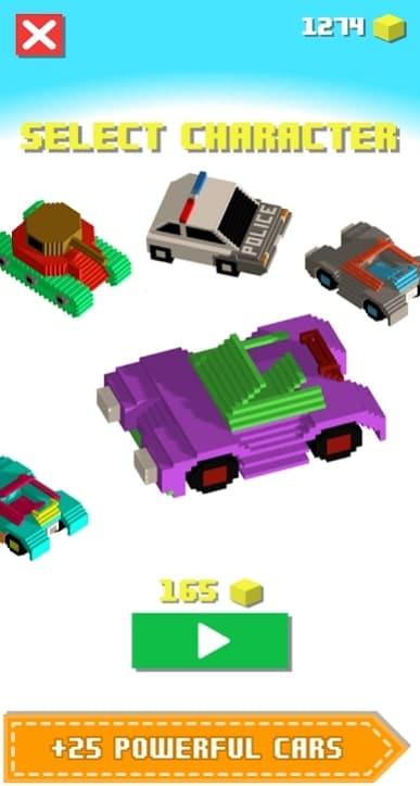 Blocky Racing мод