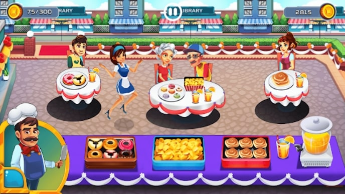 Cooking Cafe - Food Chef андроид