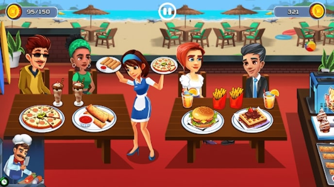 Cooking Cafe - Food Chef читы