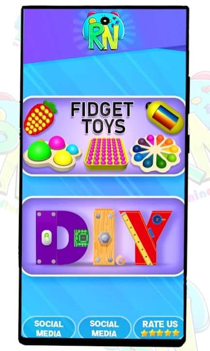 DIY Pop it Fidget toy скачать