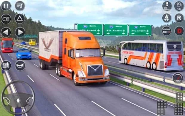 Euro Truck Driving Simulator 3D андроид