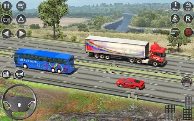 Euro Truck Driving Simulator 3D читы