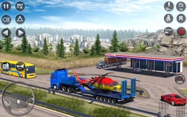 Euro Truck Driving Simulator 3D мод