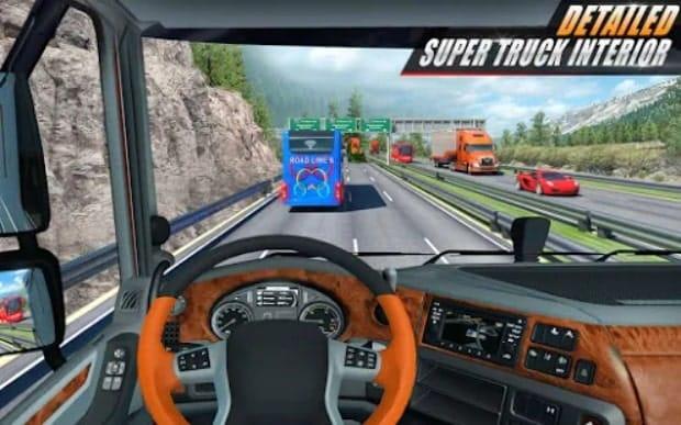 Euro Truck Driving Simulator 3D скачать