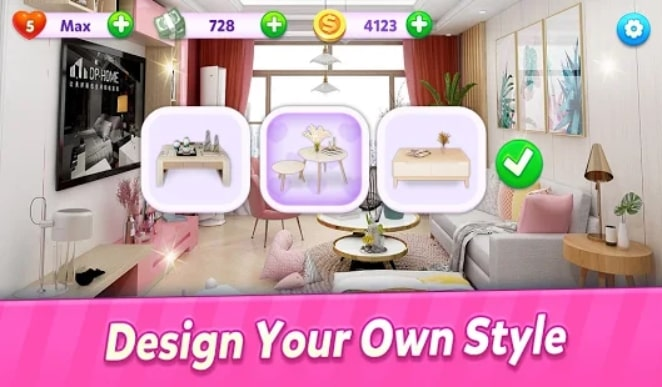 Home Design: House Decor Makeover мод