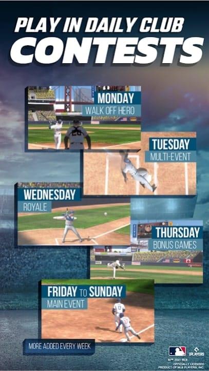MLB Tap Sports Baseball 2021 андроид